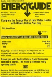 Here's What the Info on the EnergyGuide Label Means